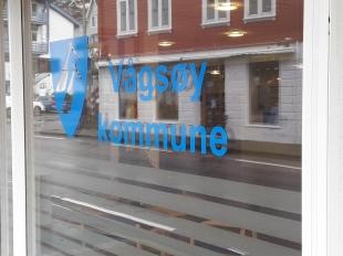 Vindusfolie til Vågsøy kommune